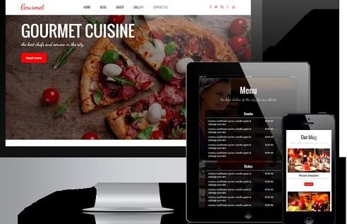 tema wordpress restaurante bar