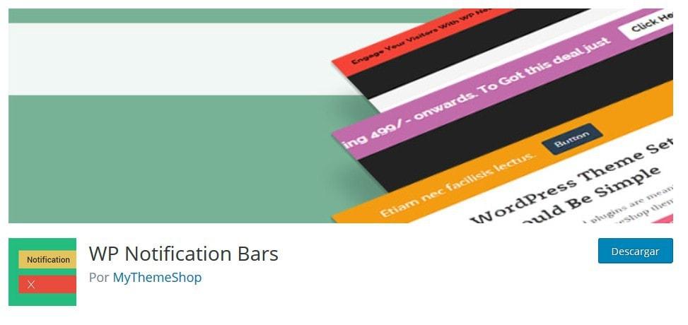 barra notificacione 1 Diseño paginas web
