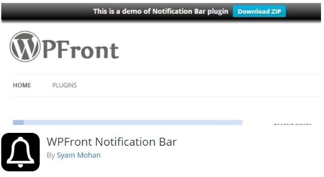 barra notificacione 19 Diseño paginas web