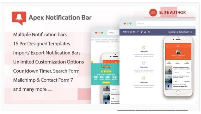 barra notificacione 7 Diseño paginas web