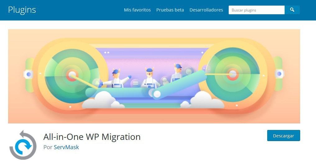 dupliar clonar migracion