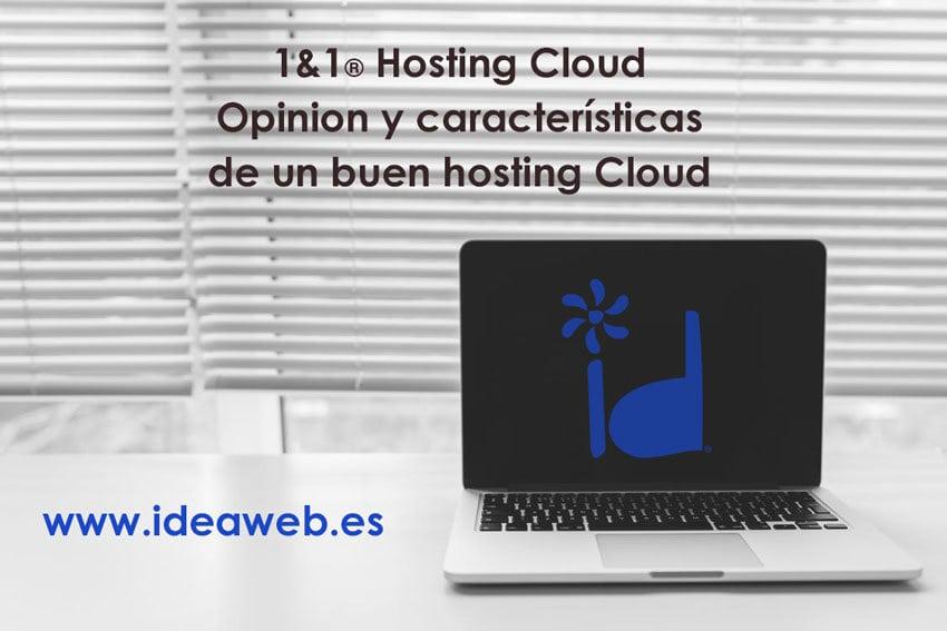 Servidor cloud de 1&1 alojamiento hosting cloud de calidad. Ventajas de utilizar el servicio cloud 1and1 para alojar tu web.