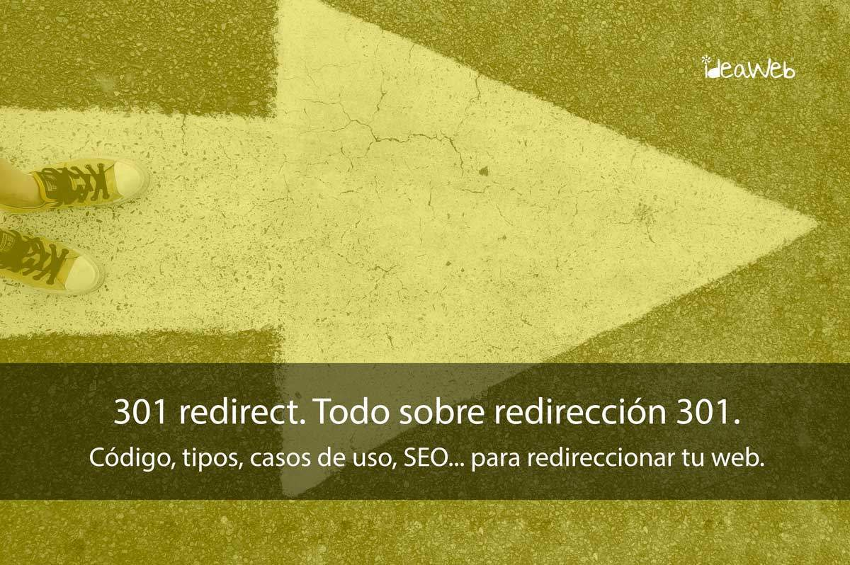 redirecciona 301 redirect redirecciones 301