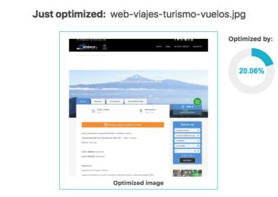 compresion imagenes WordPress