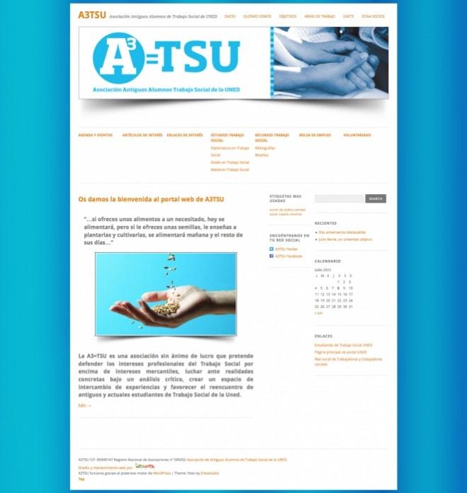 Diseño de página web para asociación sin ánimo de lucro