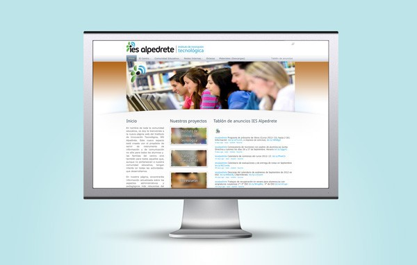 pagina web instituto eduación