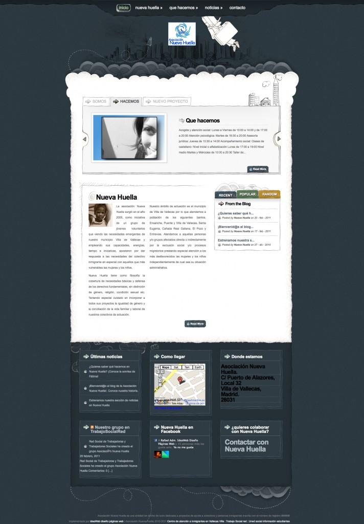 diseño web asociaciones sociales