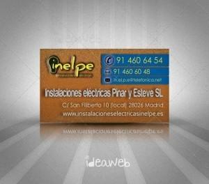 diseño tarjetas de visita
