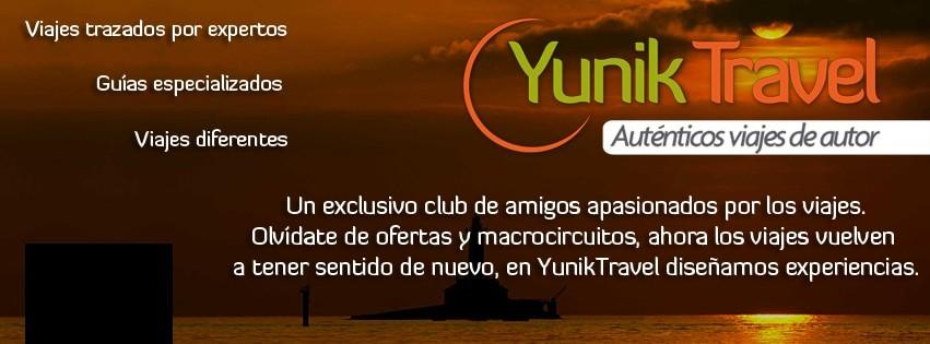 Diseño de imagen Timeline de Facebook para viajes Yunik Travel