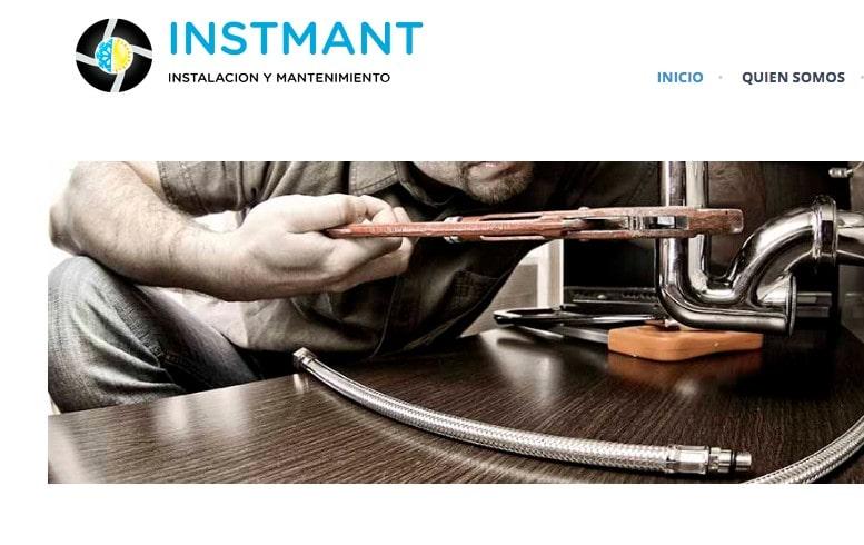 Diseño de página web para instaladores y mantenimiento