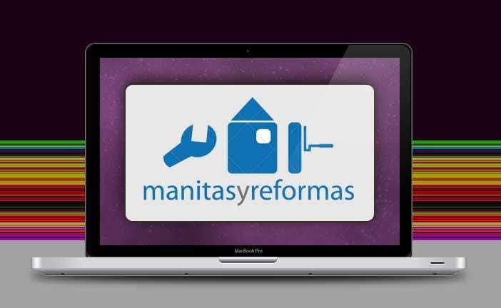 diseño de logotipo: reformas y manitas