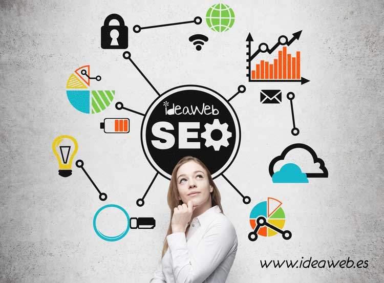 SEO madrid posicionamiento buscadores Diseño paginas web