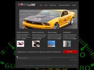 diseño web de Talleres Duocar