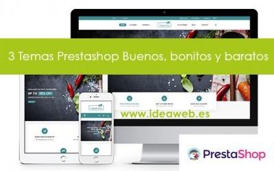 Prestashop los mejores temas de ThemeForest. Selección de themes para tu tienda online Prestashop.