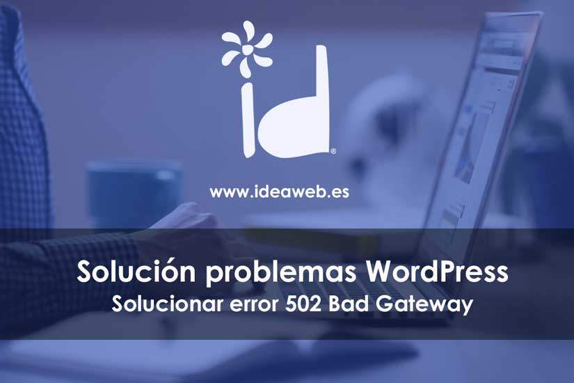 wordpress 502 gateway
