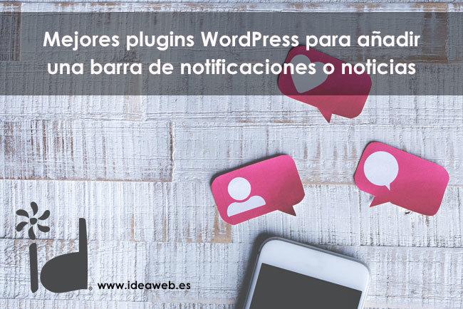 Los 25 mejores plugins para diseñar una barra de notificaciones en WordPress 2020