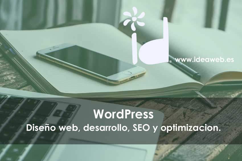 Diseño web Wordpress. Nuestro servicio especializado en Madrid. Diseño, mantenimiento, alojamiento y SEO.