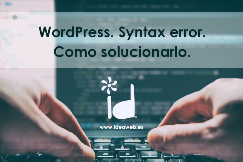 WordPress syntax Error