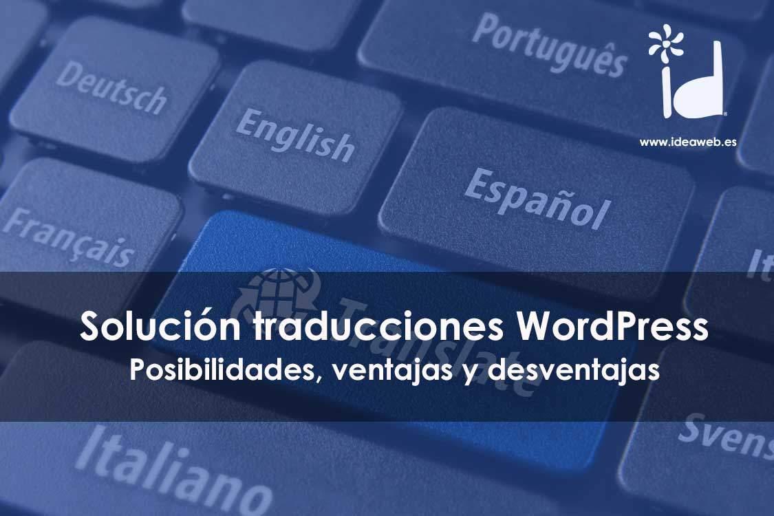 traducciones WordPress