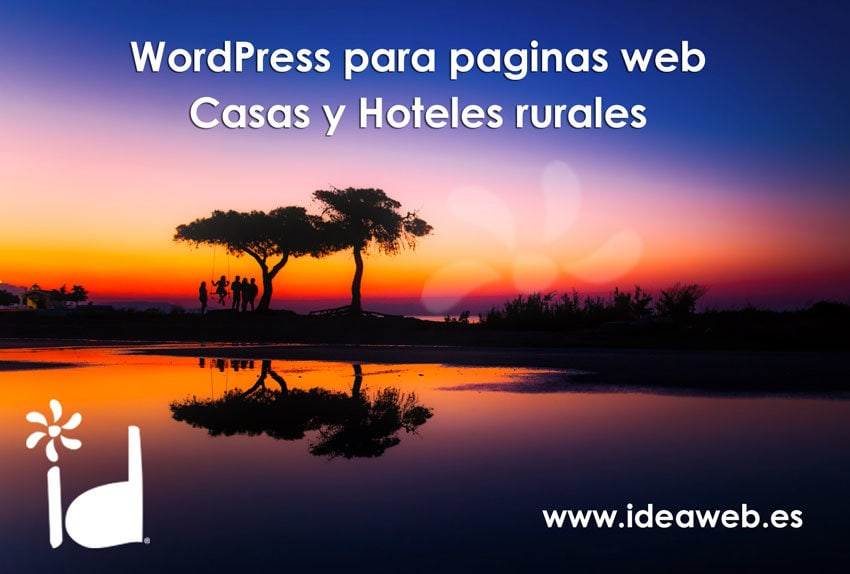 Plantillas y plugins Wordpress para páginas web de casas rurales. Páginas web para turismo rural.