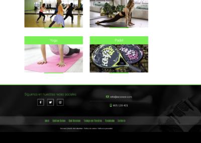 actividades empresa urbanizacion diseno web Diseño paginas web