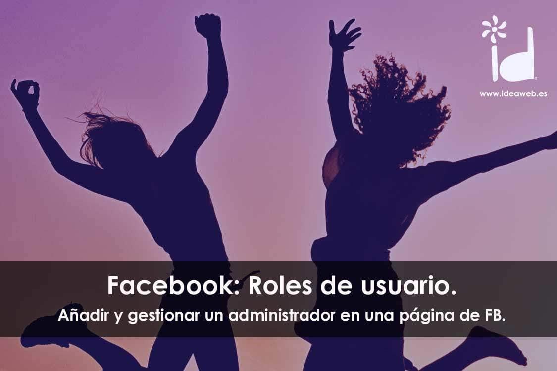 administrar usuario gestionar facebook