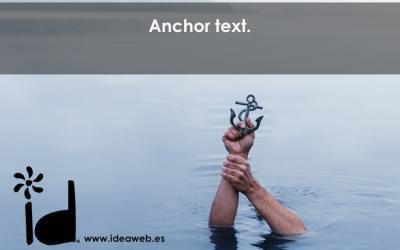 Mejores Prácticas Seo: Anchor Text