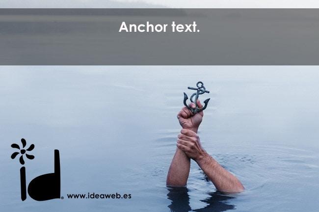 anchor text - prácticas SEO
