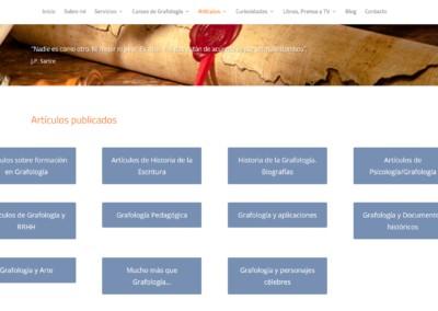 Articulos Grafologia Pagina Web
