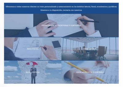 pagina web consultoria