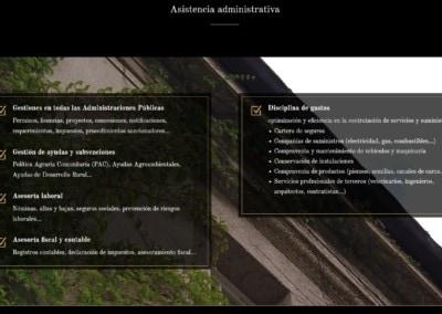 asesoria legal fincas web paginas Diseño paginas web