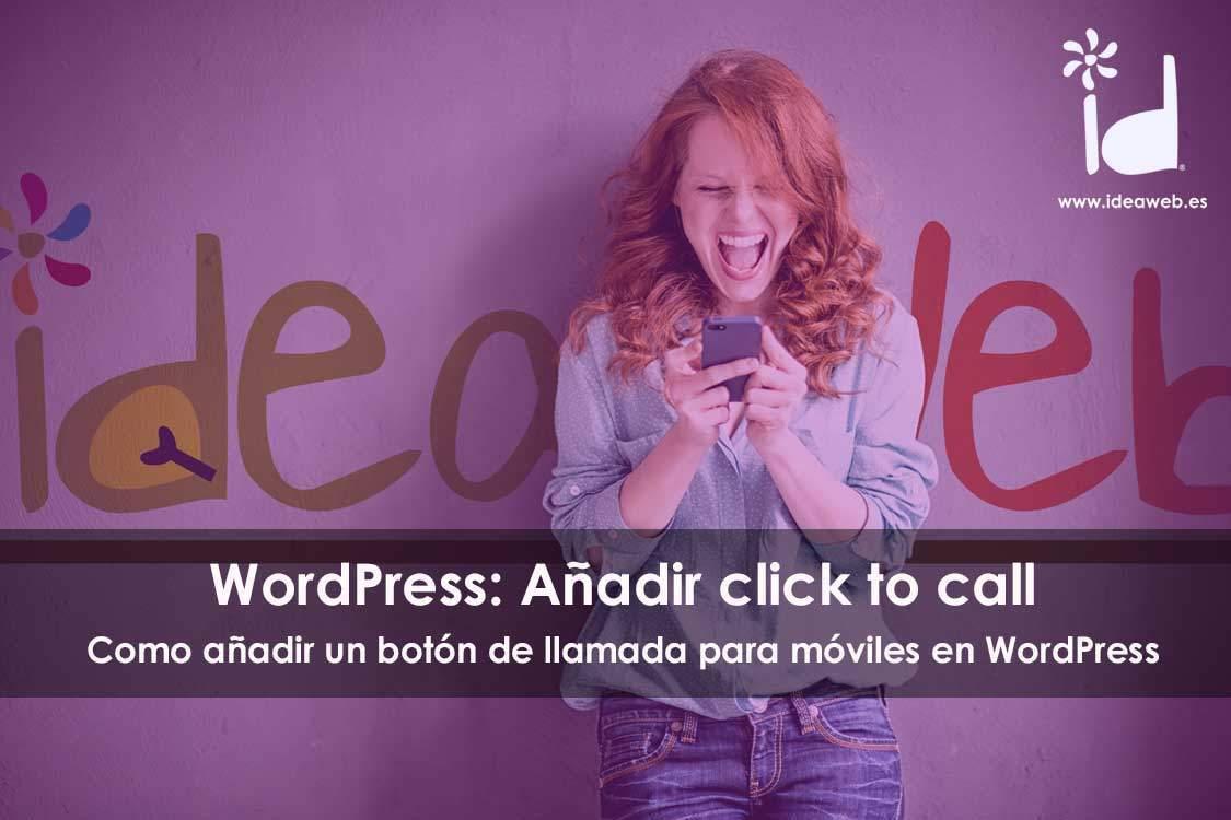 boton de llamada wordpress