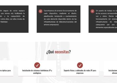 Cableado Madrid Diseno Web