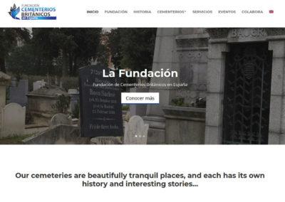 Cementerios Britanicos Disenadores Web