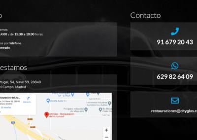 Cityglas Contacto Disenadores Web Madrid