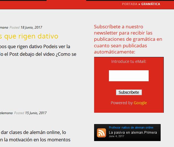 diseño web profesor Madrid