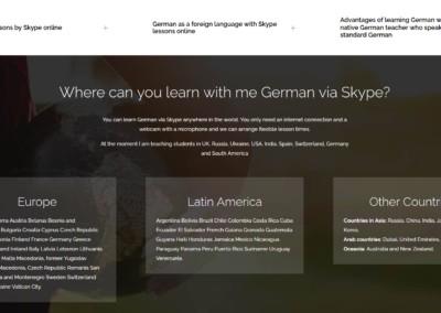 clases aleman web diseno Diseño paginas web
