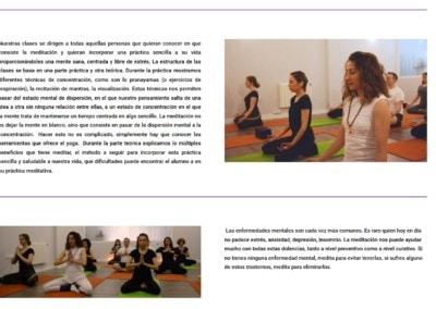 clases meditacion diseno web madrid Diseño paginas web