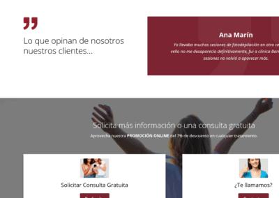 clinica odontologia disenadores web Diseño paginas web