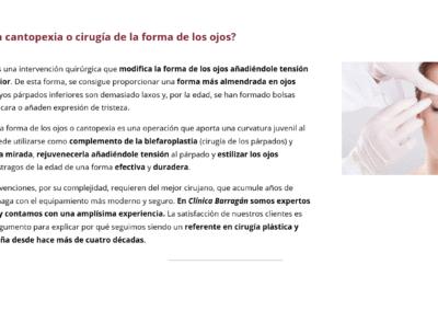 clinica tratamiento estetico disenadores web Diseño paginas web