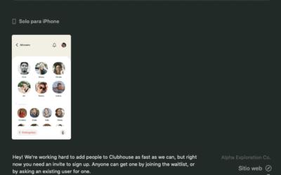 Marketing Online: Clubhouse Una App Para Estrenar.