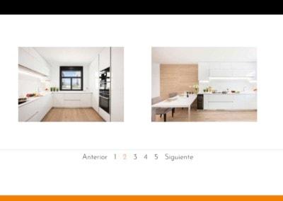 cocinas nuevas reforma pagina web Diseño paginas web