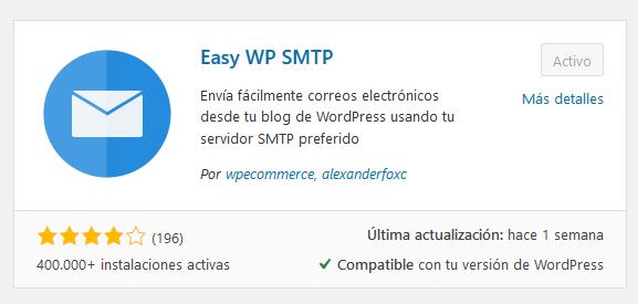 Configurar Smtp Con Easy Wp Smtp