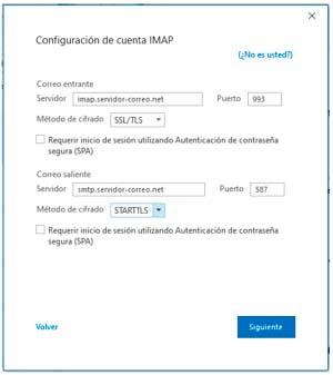 Configurar Cuentas Imap Outlook 4