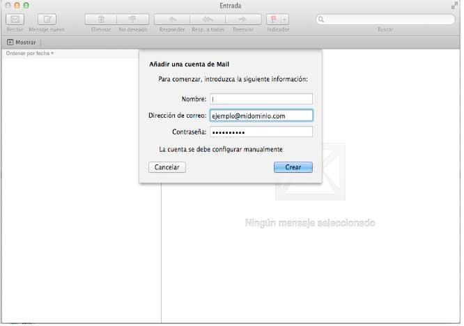 Configurar Pop3 Mac 2