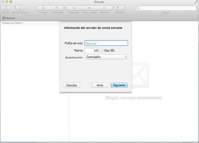 Configurar Pop3 Mac 3