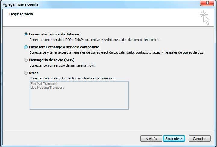 Configurar Pop3 Outlook 2