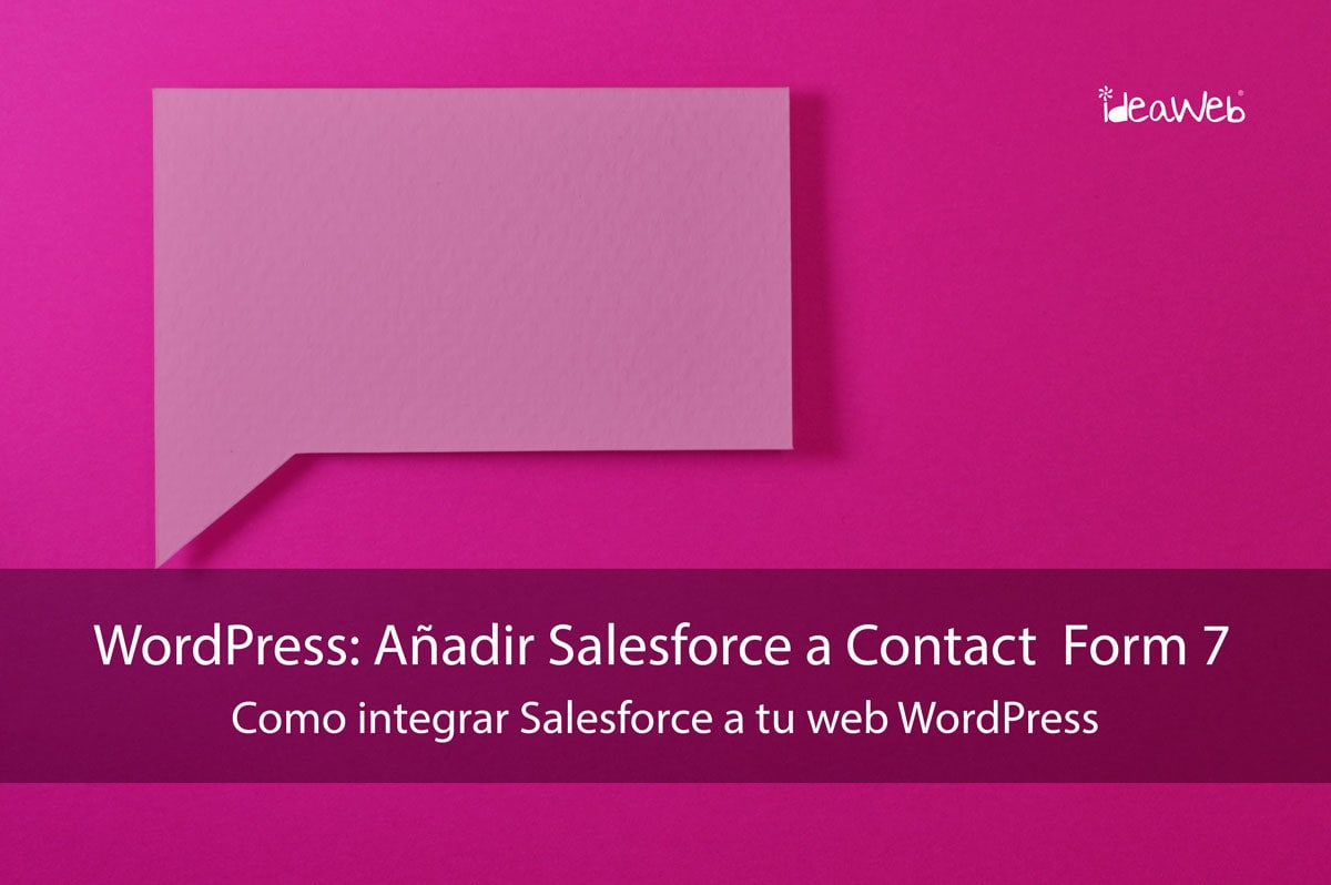 Salesforce Wordpress Formulario