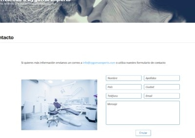 Contacto Web Zigoma Expert