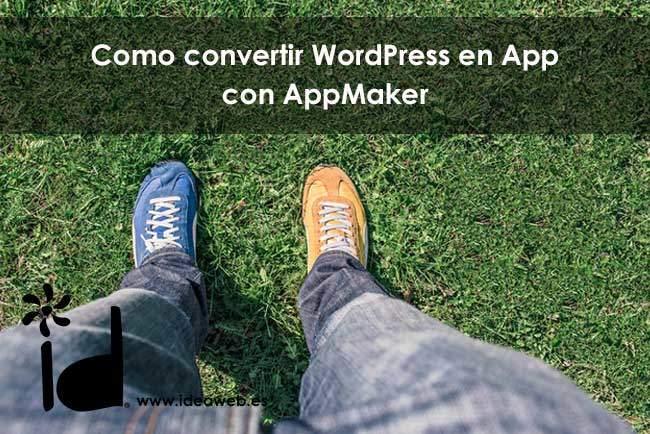 wordpress en una App